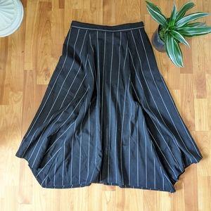GAP Skirt Pinstripe Handkerchief High Waisted